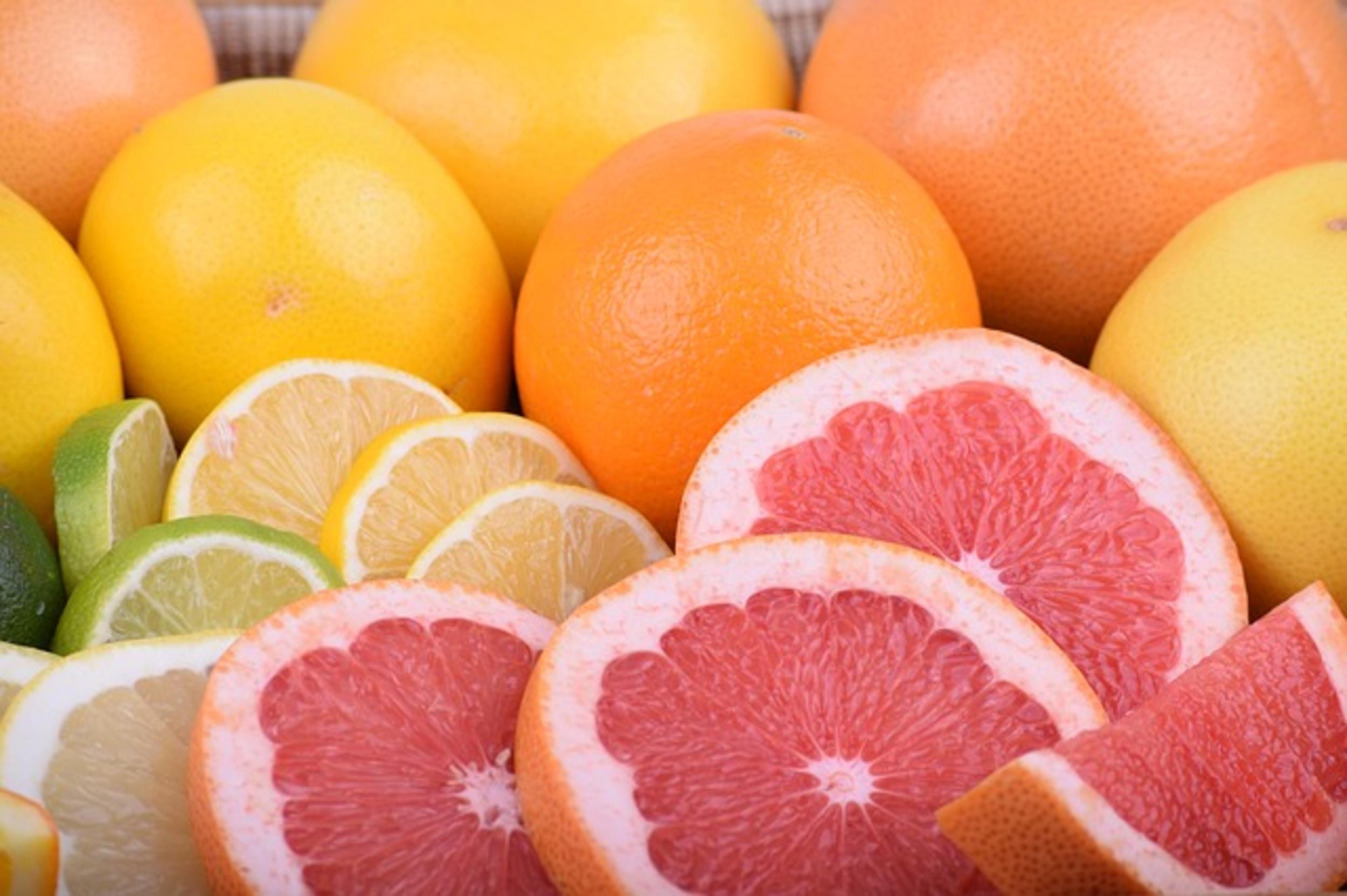 Oranges, pastèque et pamplemousse !