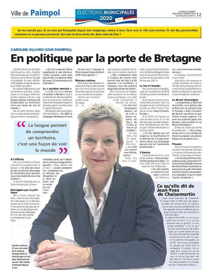 En politique par la porte de Bretagne 0
