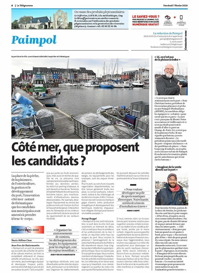 """""""Côté mer, que proposent les candidats ?"""" doc"""